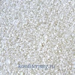 Посыпка сахарная Кристалл серебро 50 г. Dulcisud 1