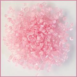 Декор сахар крупный Розовый 50 г. 1