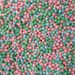 Посыпка сахарная Шарики Гол/зел/розов. перл. 100 г. банка 1
