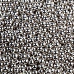 Шарики сахарные серебро 4 мм. 50 г. Ambrosio 3
