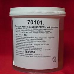 Глазурь кондитерская желейная Декоргель нейтральная 1 кг. ведро 2
