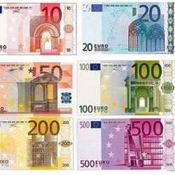 Вафельная картинка Деньги ассорти 1