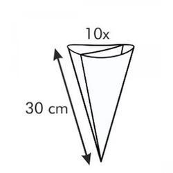 Мешок двухсекционный п/э 30 см. 10 шт. 2