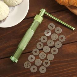 Экструдер кондитерский 20 насадок 1,7 см. металл 1