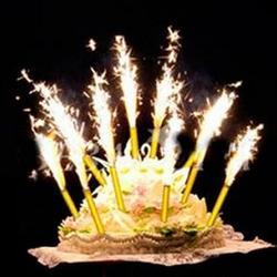 Фейерверк для торта Фонтан 18 см. 6 шт. 1