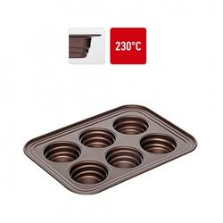 Форма для выпечки 6 ячеек 29х21х3,7 см. а/п покр. Nadoba 1