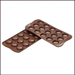 Форма для конфет Изи-шок Макаронс Silikomart 1