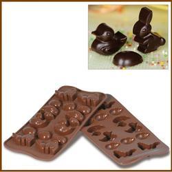 Форма для конфет Изи-шок Пасха Silikomart 1