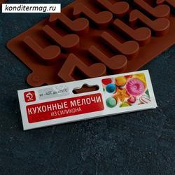 Форма для конфет Ноты 19х12 см. Доляна 1