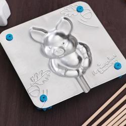 Форма для леденцов и мармелада 9х9 см. Свинка 1