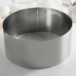 Форма для выкладки и выпечки Круг 22х10 см. Никис 1