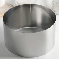 Форма для выпечки и выкладки Круг 18х10 см. Никис 1