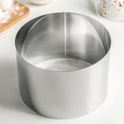 Форма для выпечки и выкладки Кольцо 18х12 см. Никис 1
