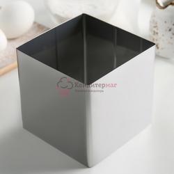 Форма для выпечки и выкладки Квадрат 10х10х10 см. Никис 1