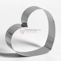 Форма для выпечки и выкладки Сердце 14х16х4,5 см. 1