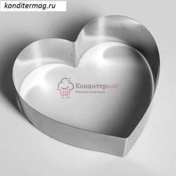 Форма для выпечки и выкладки Сердце 20х20х6,5 см. 1