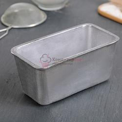 Форма для выпечки хлеба 15х8х7 см. алюм. Хлебопек 1