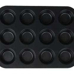 Форма для выпечки 12 маффинов 45х27х3 см, 2