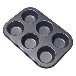 Форма для выпечки 6 маффинов металл Vetta 1