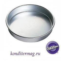Форма для выпечки Круглая 25х5 см. алюминий 1