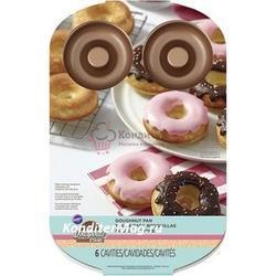 Форма для выпечки Пончик 6 ячеек Вилтон 2