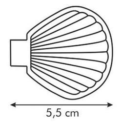Форма для выпечки/шоколада Ракушка Tescoma Delicia, 24 шт., 2