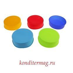 Форма силиконовая Круг 24х5 см. 1