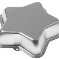 Форма для выпечки Звезда 21х5 см. алюминий 2