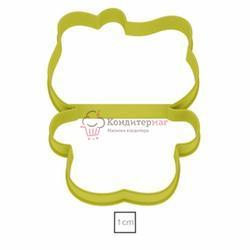 Формочка для печенья Китти пластик 1
