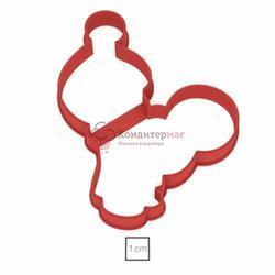 Формочка для печенья Маша 9х8 см. пластик 1