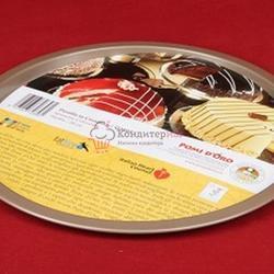 Форма для выпечки 27 см. перфорированная металл Pomidoro 1