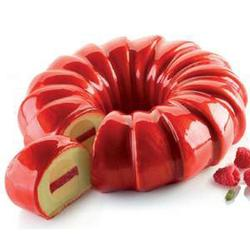 Форма силиконовая Красный Шлейф 3D 24х6,5 см. 1