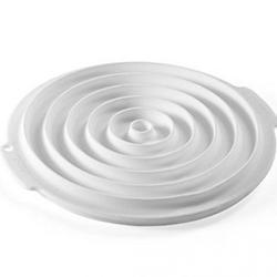 Форма силиконовая Круг для декора 27х25,5х2,5 см. 3