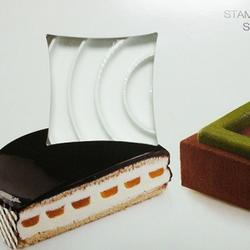 Форма силиконовая Круг для декора 27х25,5х2,5 см. 2