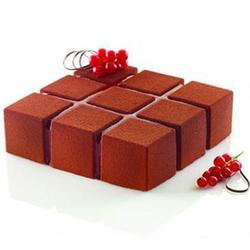 Форма силиконовая Кубик 172х172х5 см. Silikomart 1