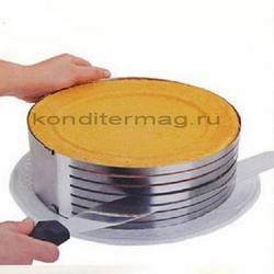 Форма раздвижная Кольцо с прорезями 25-30х9 см. 1