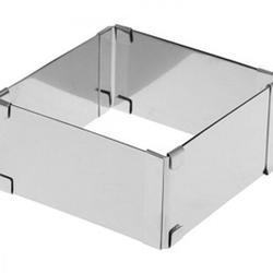 Форма раздвижная Квадрат 15-28х5 см. Cake Ring 1