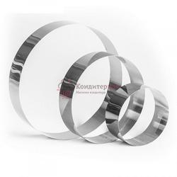 Набор форм для выпечки и выкладки Круг 10,15,20х5 см. 3 шт. Tas-prom 1