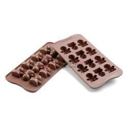 Форма для конфет Изи-шок Человечки Silikomart 1