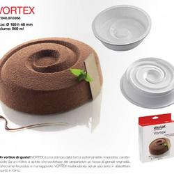 Форма силиконовая Вортекс 3D 17,5х4,8 см. Silikomart 3