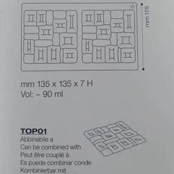 Форма силиконовая 3D Майя Pavoni 4