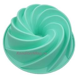 Форма силиконовая для кекса Спираль 24,5х9 см. Alpenkok 1