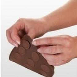 Форма силиконовая для шоколада Кофейные зерна Delicia Choco, 2
