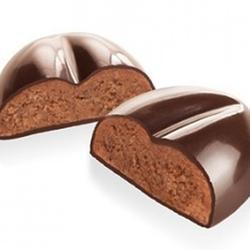 Форма силиконовая для шоколада Кофейные зерна Delicia Choco, 3