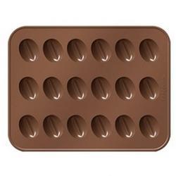 Форма силиконовая для шоколада Кофейные зерна Delicia Choco, 1