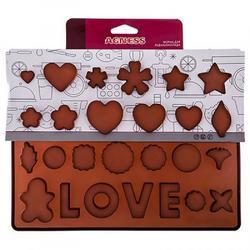 Форма для конфет Love 20х26 см. 1