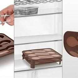 Форма силиконовая для шоколада Ложечки Delicia Choco, 2