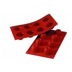 Форма силиконовая Гугельхупф мини 8 ячеек 5,5х3,5 см. 1