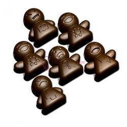 Форма для конфет Изи-шок Человечки Silikomart 2