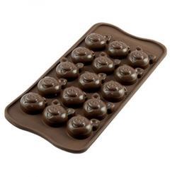 Форма для конфет Изи-шок Поросята Silikomart 1